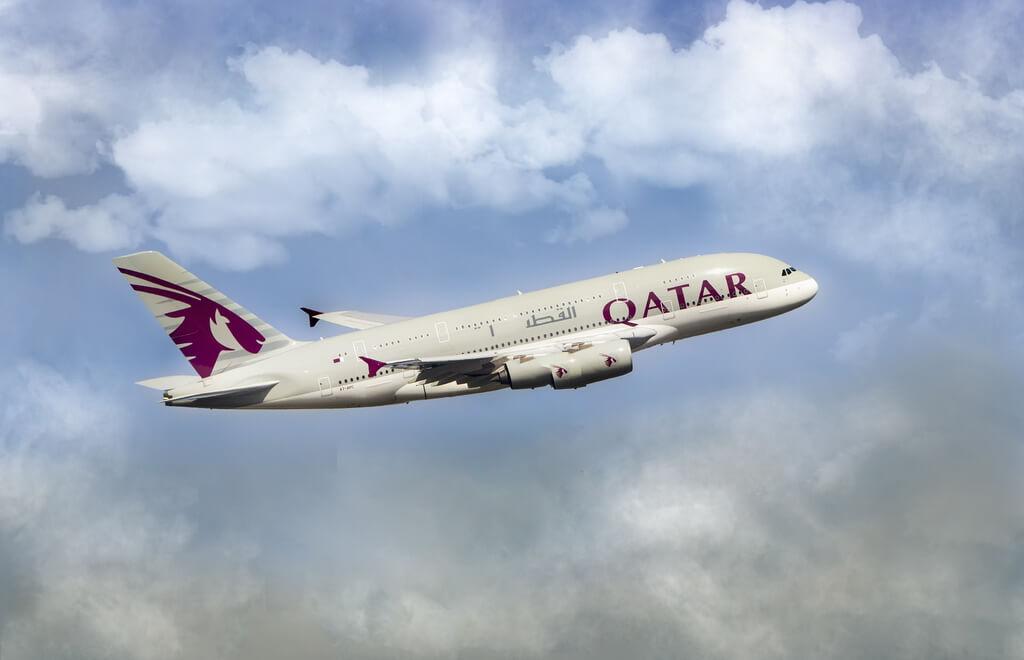 Qatar airplane