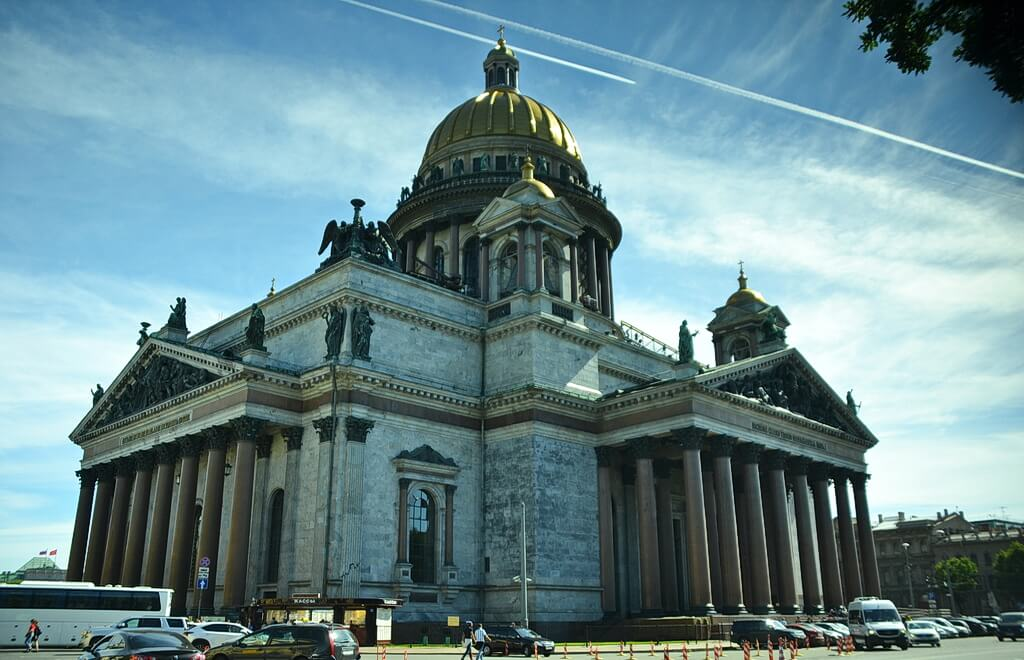 The St. Isaac's Cathedral