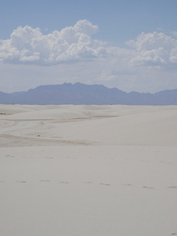 """White Sands NM, New Mexico 22 Deg 49' 17"""" N, 106 Deg 16' 40"""" W"""