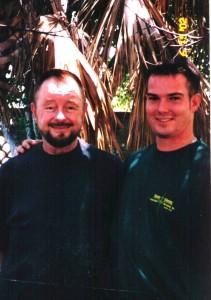 Ingo Swann with James Paul Smith