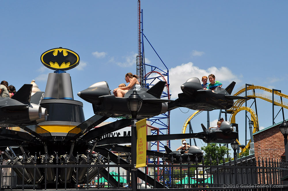 Batwing Ride Guide To Six Flags Over Texas