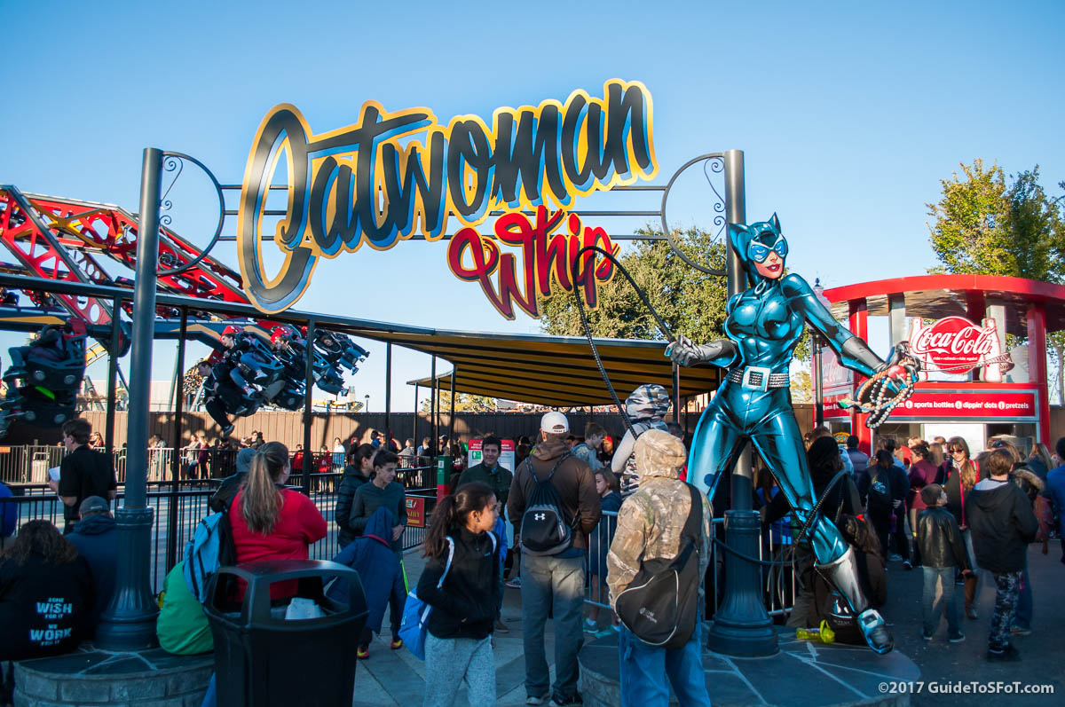 Catwoman Whip Ride Guide To Six Flags Over Texas
