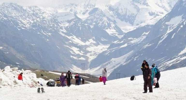 Rohtang Point BestManali Tourist Place
