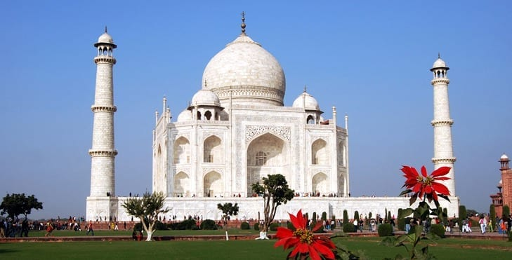 taj mahal india travel