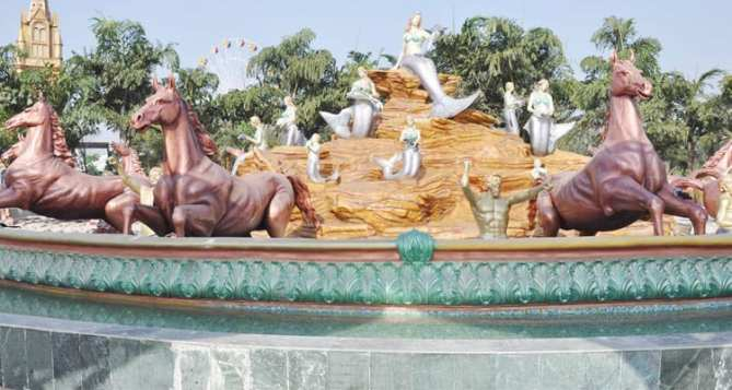 Kanpur water theme park