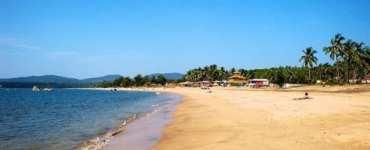 Agonda beach in Goa