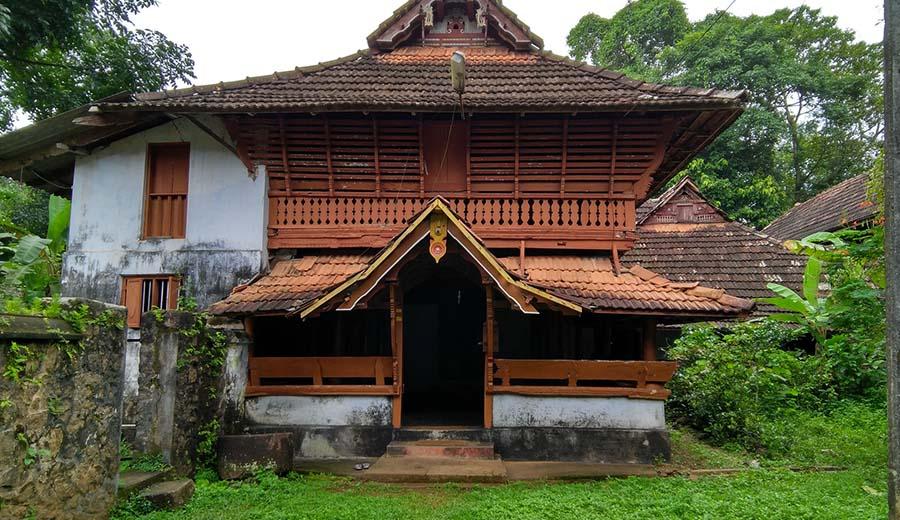 Poonjar palace