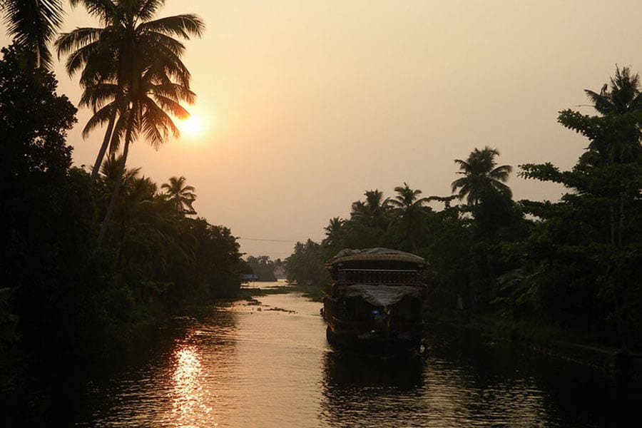 Kollam Backwaters - Kerala Backwater