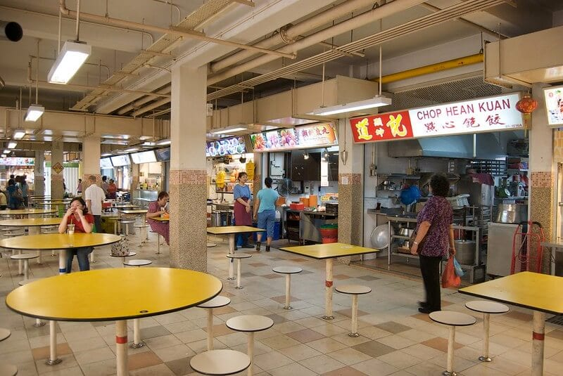 Hawker centers - About Singapore