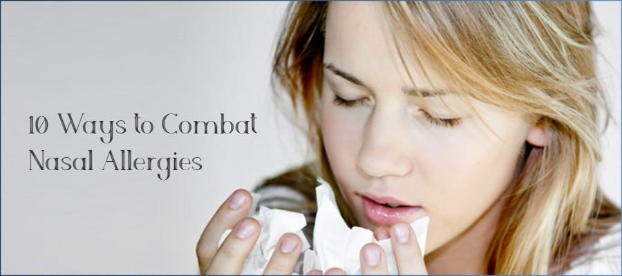 Ways to Combat Nasal Allergies