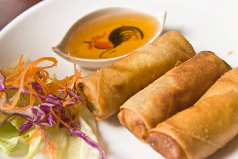 Fried Spring Rolls - Top 10 Eats in Southeast Asia
