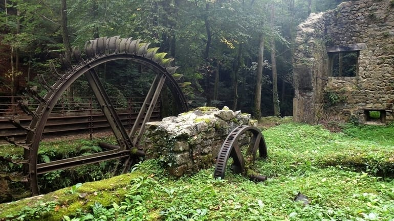 Abandoned Blade Mill, France - Most Beautiful Abandoned Places In The World