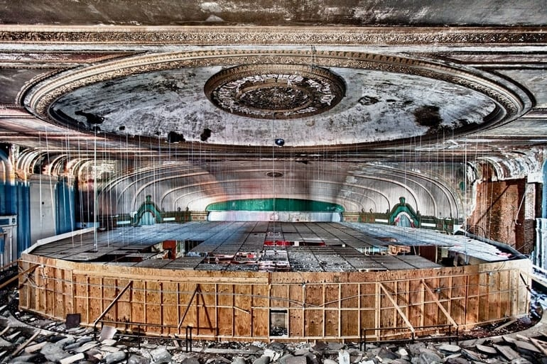 Lawndale Theater in Chicago