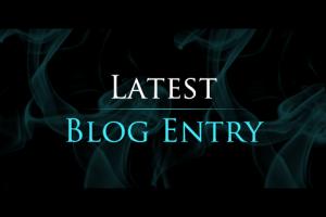 latest blog entry