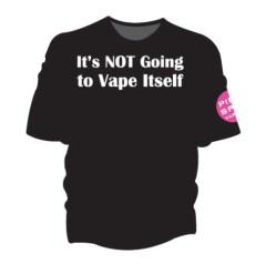 Its-NOT-Going-To-Vape-Itself-Pink-Spot-Apparel-T-Shirt