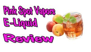 peach green tea e-liquid review