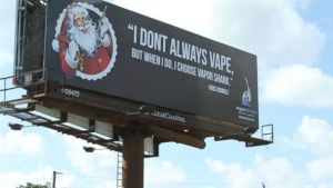 vapor shark vaping santa