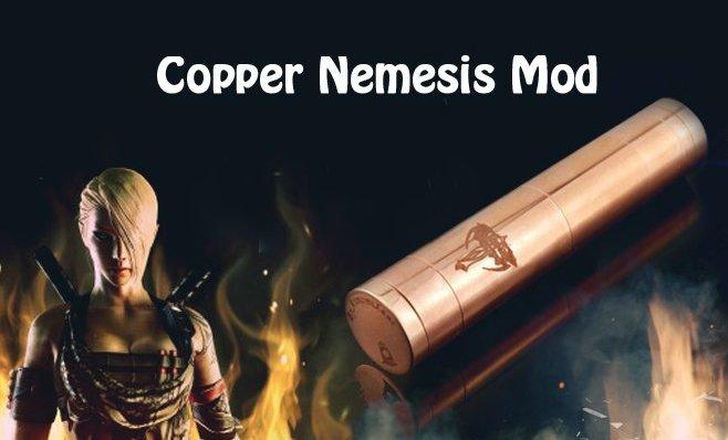 nemesis copper mechanical mod