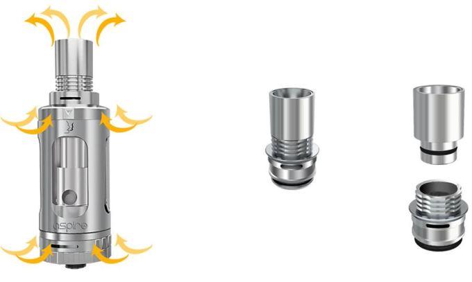 aspire triton airflow system