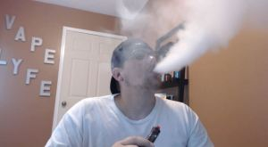 blake brown blowing vapor