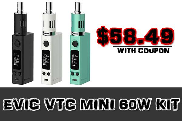 evic vtc mini 60w kit deal