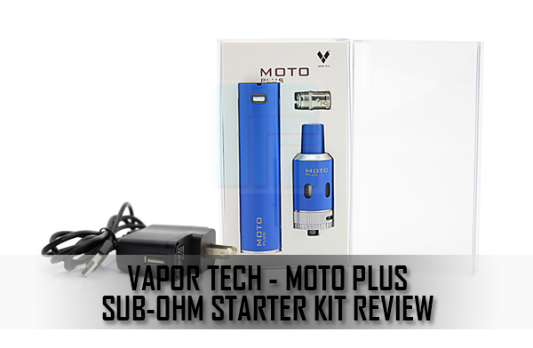 moto plus sub-ohm starter kit review