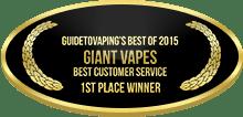 1st Place - Best Customer Service - Giant Vapes