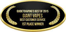 1st Place - Best Customer Service - Giant Vapes