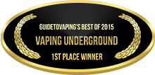 1st Place - Best of 2015 - Vaping Underground