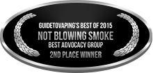 2nd Place - Best Advocacy Group - Not Blowing Smoke