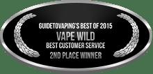 2nd Place - Best Customer Service - Vape Wild