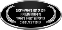 2nd Place - Vaping's Biggest Supporter - Individual - Grimm Green
