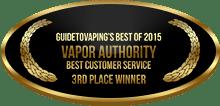 3rd Place - Best Customer Service - Vapor Authority