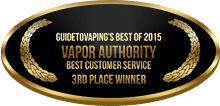 3rd Place - Best Customer Service - Vapor Authority