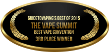 3rd Place - Best Vape Convention - The Vape Summit