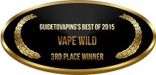 3rd Place - Best of 2015 - Vape Wild