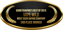 3rd Place - Most Seen Vaping Company - Vape Wild