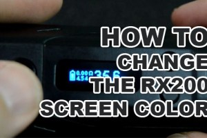 rx200 screen color change