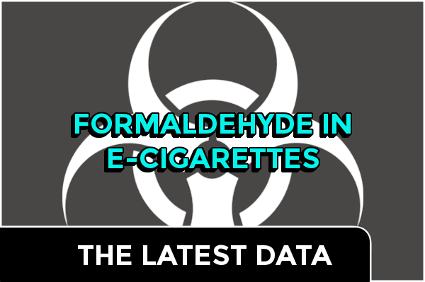 Formaldehyde In E-Cigarettes- The Latest Data:header