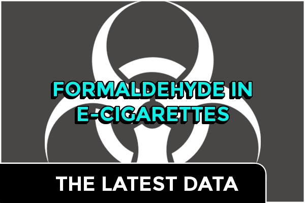 Formaldehyde In E-Cigarettes- The Latest Data:header