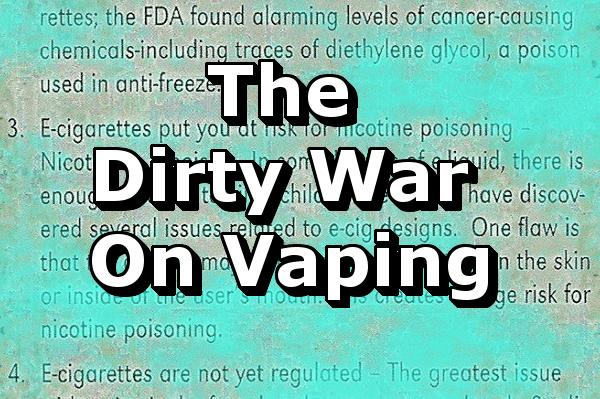 dirty war on vaping header