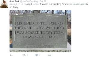 just quit tweet
