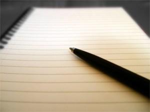 Every vaper has a story: pen n paper