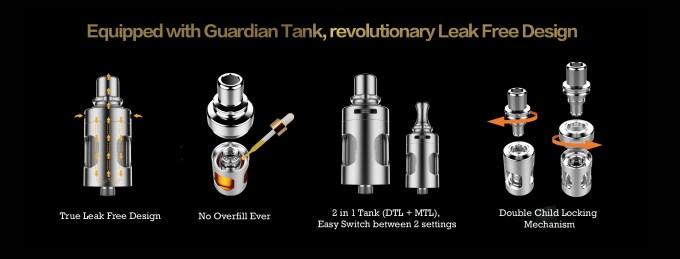 The Vaporesso Mini Target Kit: Guardian tank official