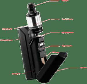 Wismec Reuleaux RX75 features