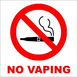 A Tale of 2 countries: no vaping