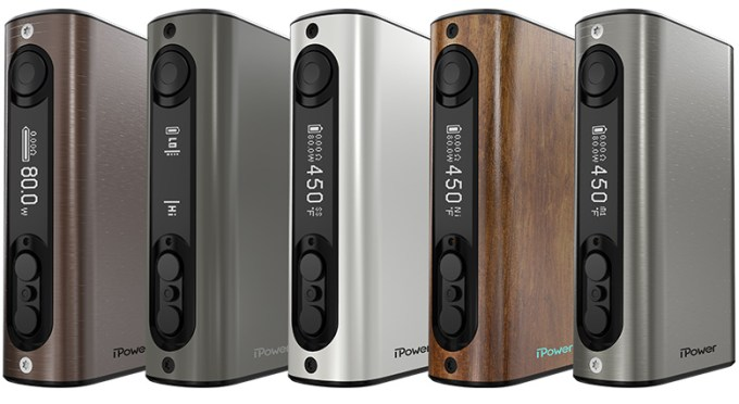 Eleaf iPower 80 Watt TC Mod line up