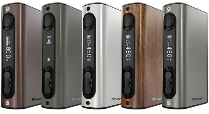 Eleaf iPower 80 Watt TC Mod line up