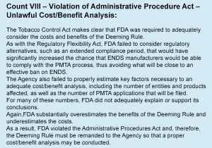 Vaping-Industry-Files-FDA-Complaint-In-DC-count-8