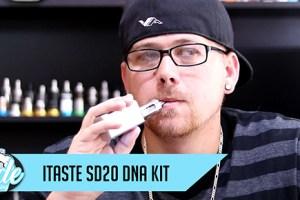 itaste sd20 dna kit review